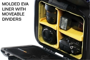 U160 Urban Elite Half Case Camera Pack organizer